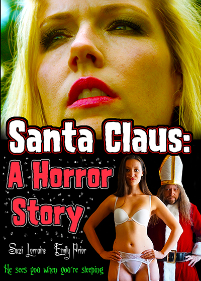 "This is the DVD cover for ""Santa Claus: A Horror Story"""