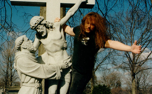 bill zebub on a cross